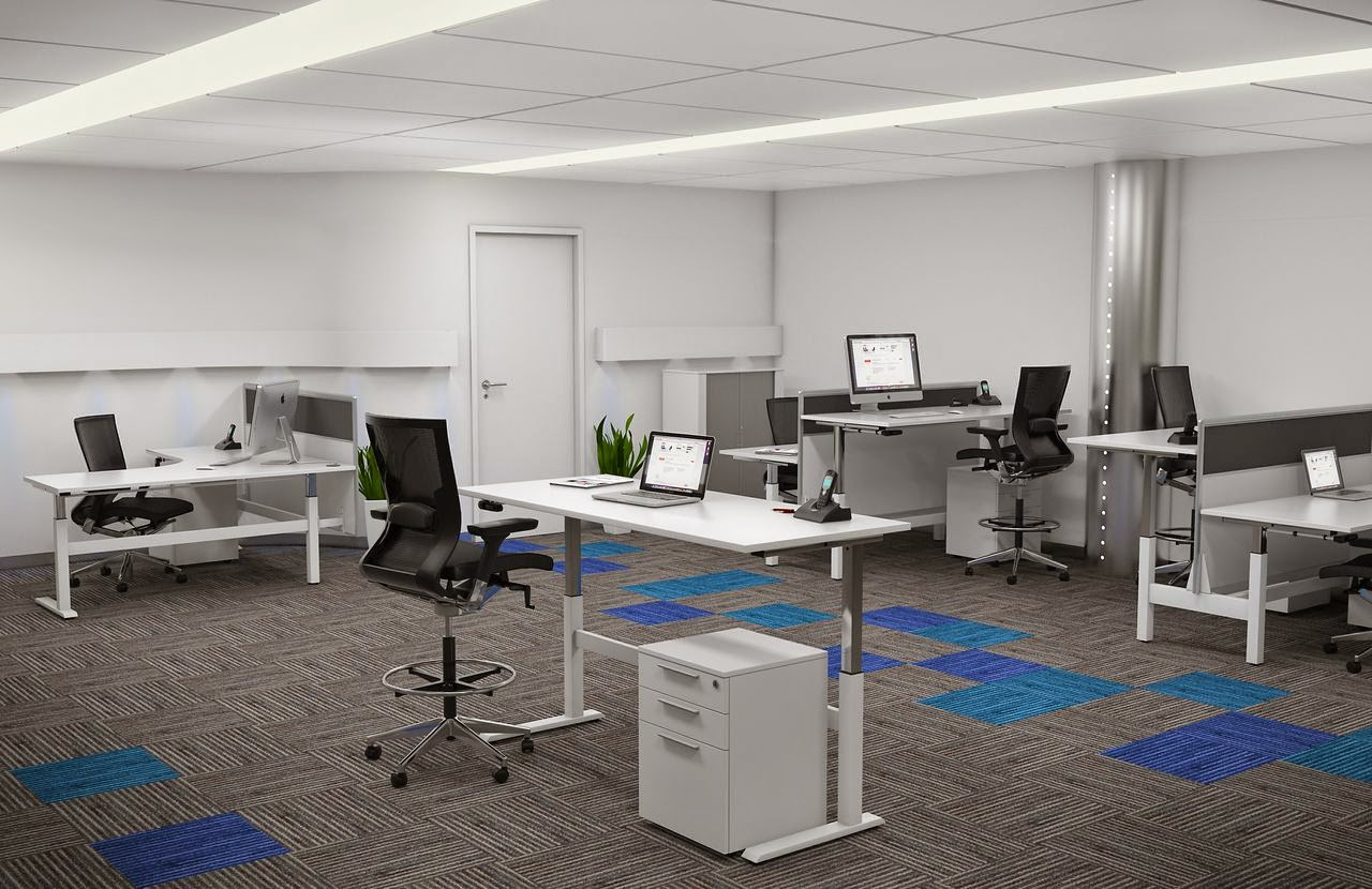 Office furniture for Office design ergonomics