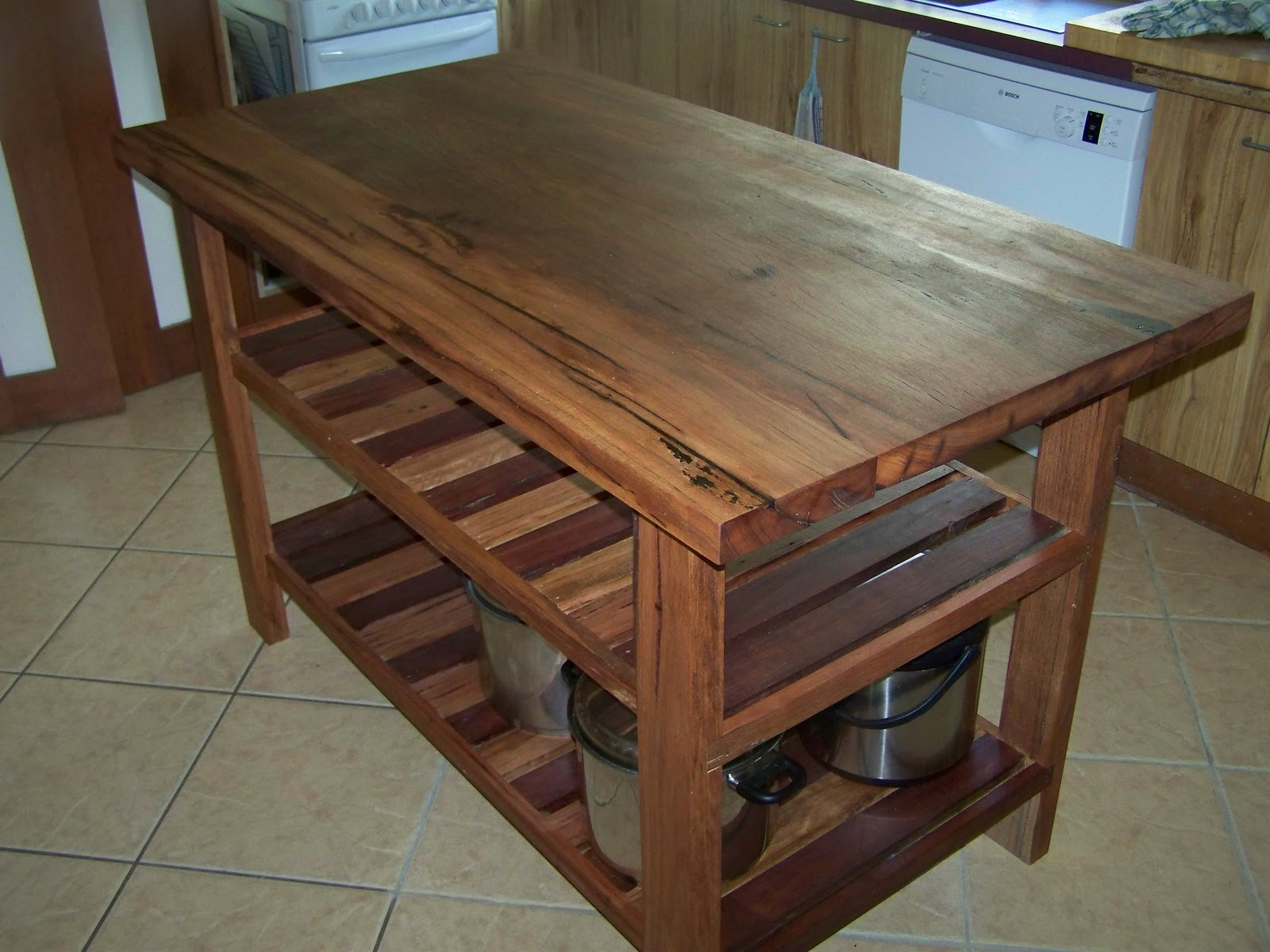 secret hippie new kitchen island bench