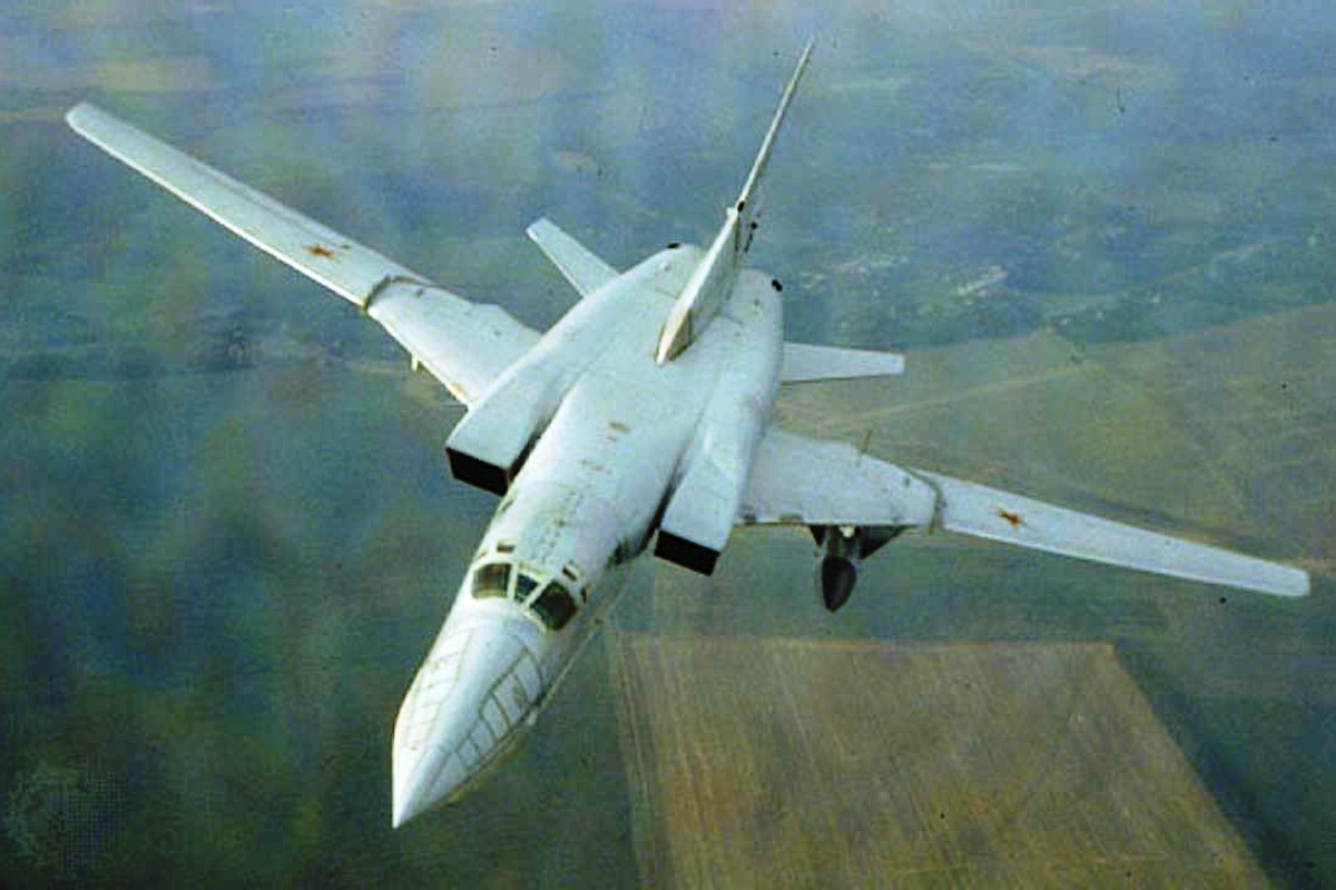 Tupolev Tu-22M Pesawat Pengebom Strategis Wallpaper 1