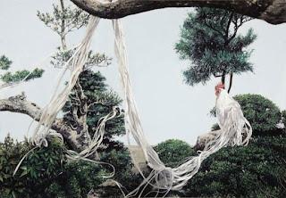 Onagadori Long Tailed Chicken froom Japan