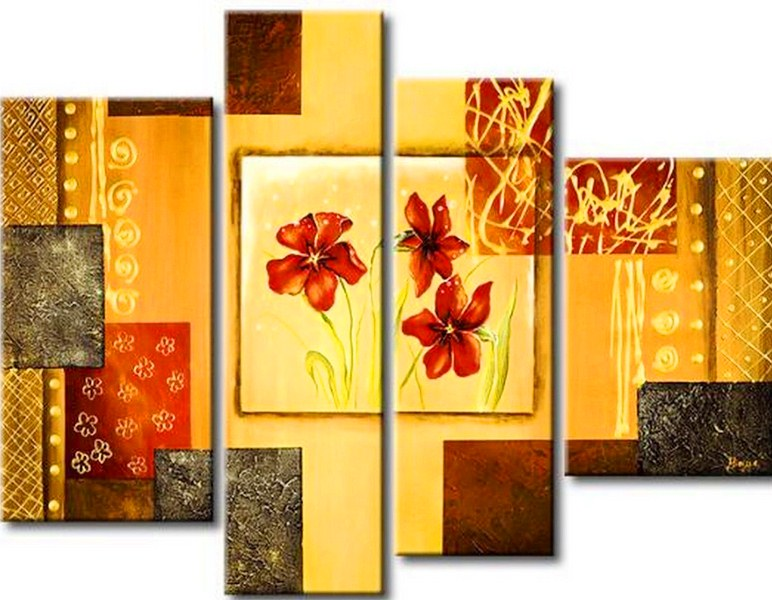 Cuadros Pinturas Oleos Cuadros Decorativos Con Flores