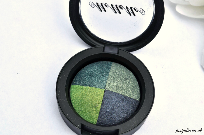 MeMeMe Cosmetics Eye Inspire Catwalk Quad Collection, in Ocean Eyes Review