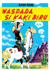 Buku Murah Online Lucky Luke Waspada Kaki Biru Morris