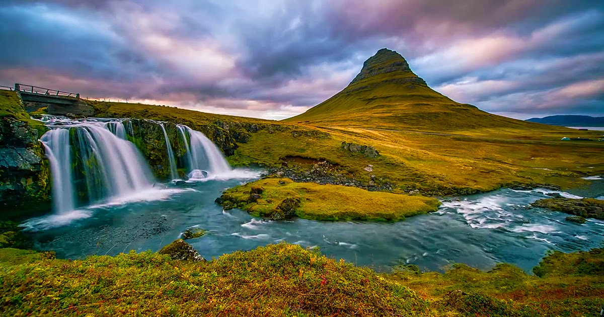 A Man Travels Over 3,000 Miles Taking Pictures Of Iceland's Unique Landscapes.