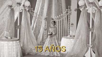 Ver fotos de tortas decoradas de 15 AÑOS