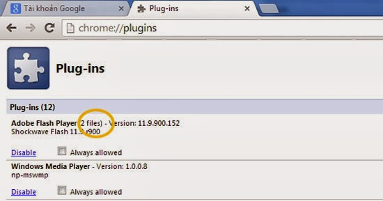 Khắc phục lỗi Flash Player dừng đột ngột trên Google Chrome