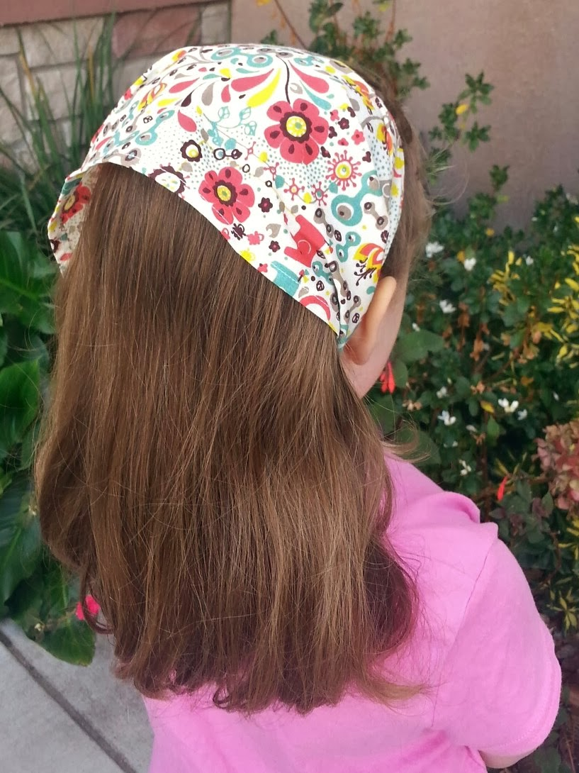 Birch Fabrics Frolic Head Scarf by Fabric Mutt