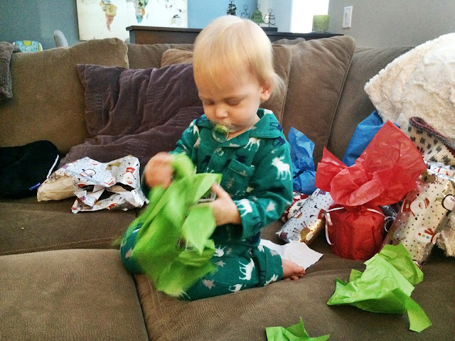 Christmas Morning Opening Presents