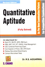 Quantitative Aptitude by R.S. Aggarwal
