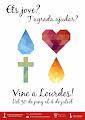 Joves a Lourdes amb l'Hospitalitat