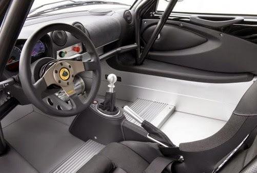 2015 Lotus Exige interior