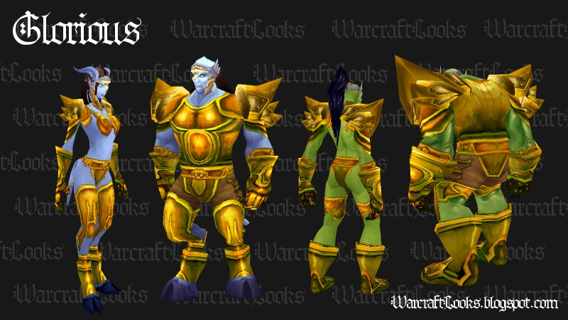 Glorious Set - Plate (Click to Enlarge)  sc 1 st  Warcraft Looks - Blogger & Warcraft Looks: Great Looking Uncommon Plate Sets