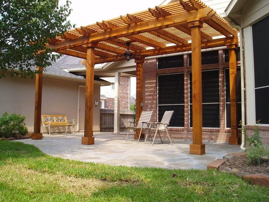 unique pergolas de madera para jardin