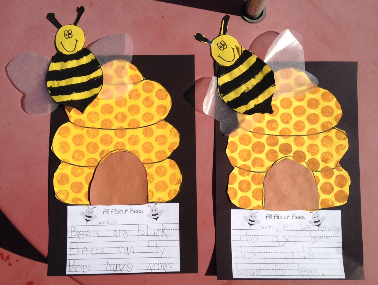 Buzzing about Bees! - Apples and ABC's
