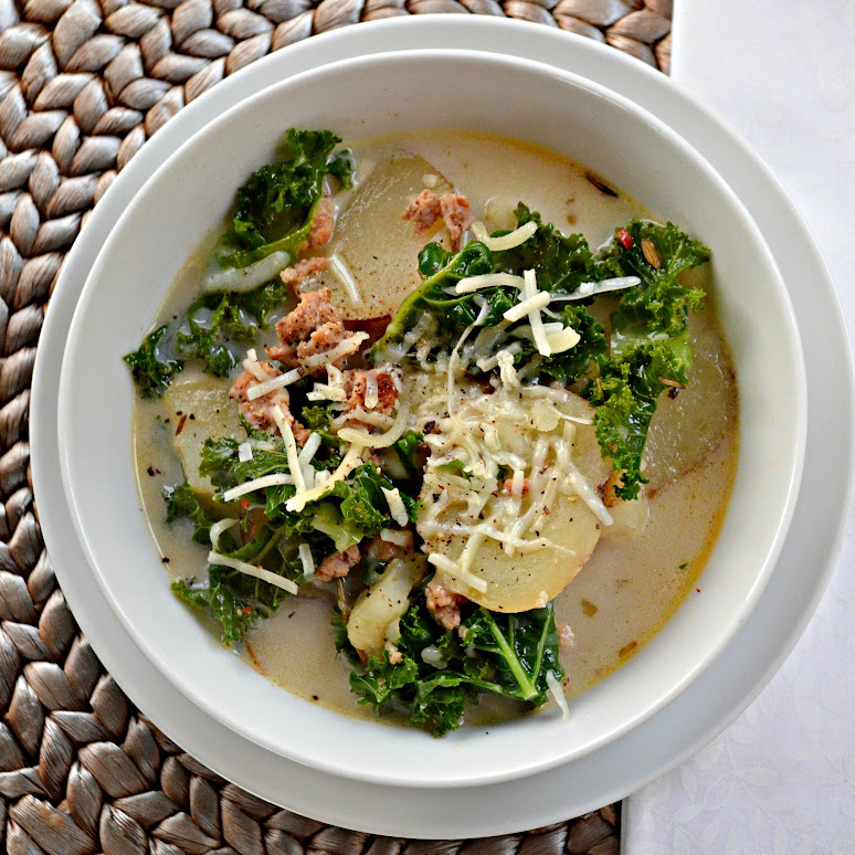 Sausage, Potato, And Kale Soup Recipe — Dishmaps