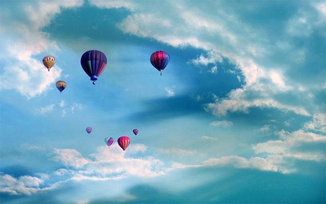 Hot Air Balloons Screensaver