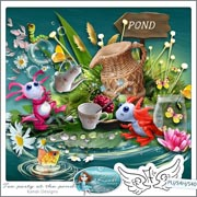 Tea party at the pond by Kandi Designs