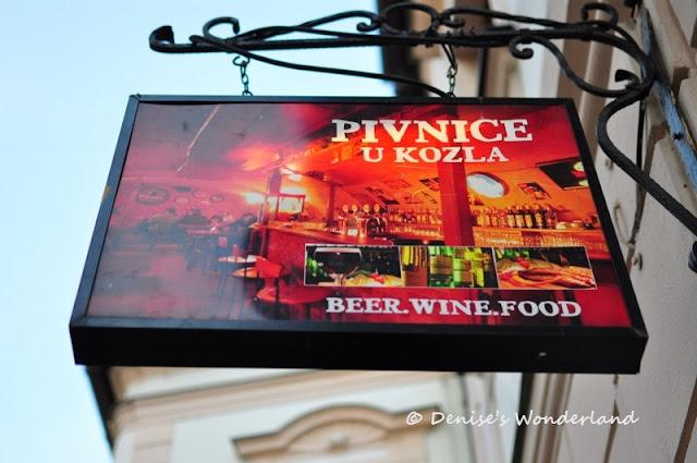 Restaurant in Bratislava Old Town Square