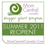 Mom Central Canada Blogger Grants Program