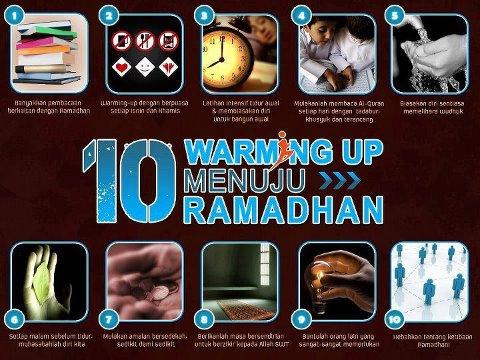 10 Warming Up Menuju Ramadhan -jalantubik.blogspot