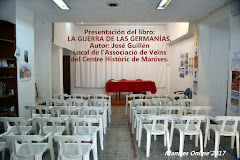 """04.05.17 PRESENTACIÓN DEL LIBRO """"LA GUERRA DE LAS GERMANÍAS"""" DE JOSÉ GUILLÉN"""