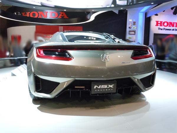Honda NSX Concept no salão do automóvel 2012