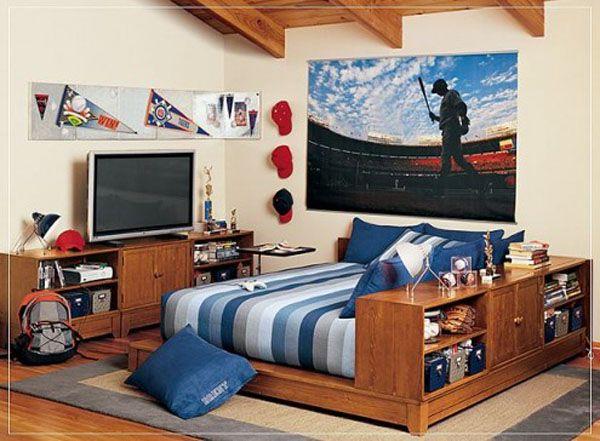 Deco Chambre Garcon Voiture: D  corations et fresques murales sur ...