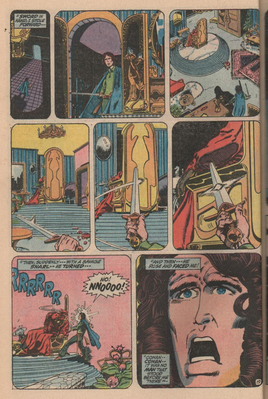 Conan the Barbarian (1970) Issue #11 #23 - English 26