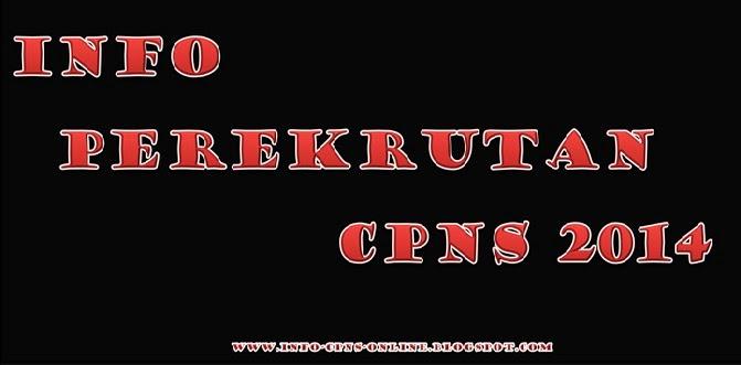 info perekrutan CPNS 2014