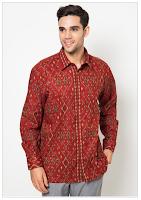 Contoh Gambar Baju Batik Muslim Pria Terbaru