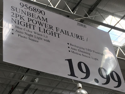 Deal for the Sunbeam Power Failure / Night Light at Costco