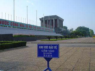 Access to Ho Chi Minh Mausoleum