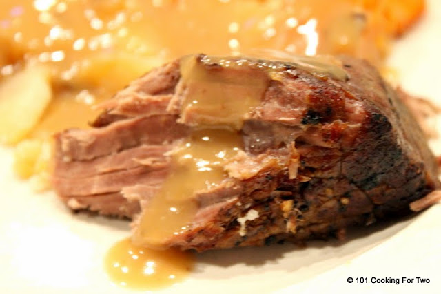 Slow Cooker Pot Roast with Gravy from 101 Cooking For Two