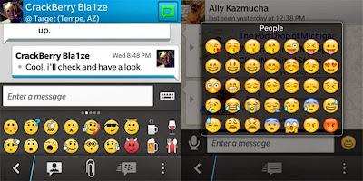 Emoticons di BBM dan Whatsapp