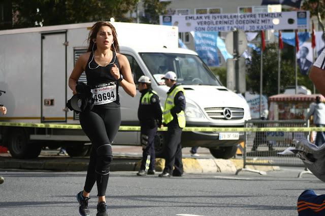 Beşiktaş,The Istanbul Eurasia Marathon 2012.