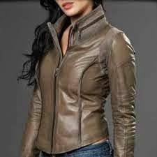 Model Jaket Kulit Wanita Terbaru Trendy