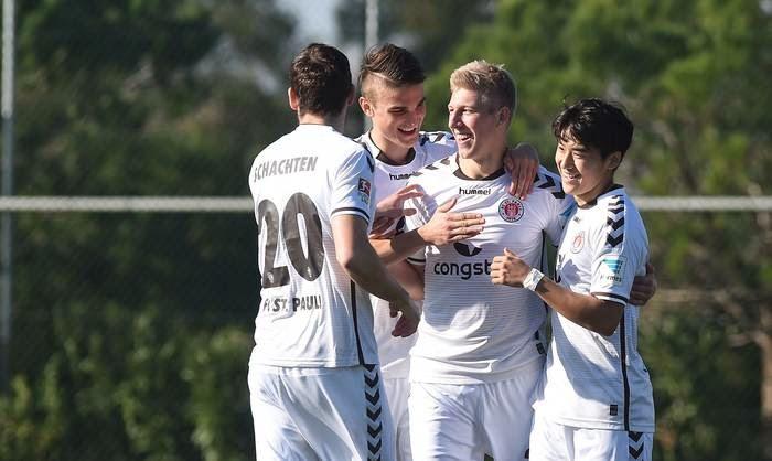 FC St. Pauli vence o amistoso dessa tarde com placar de 2:0