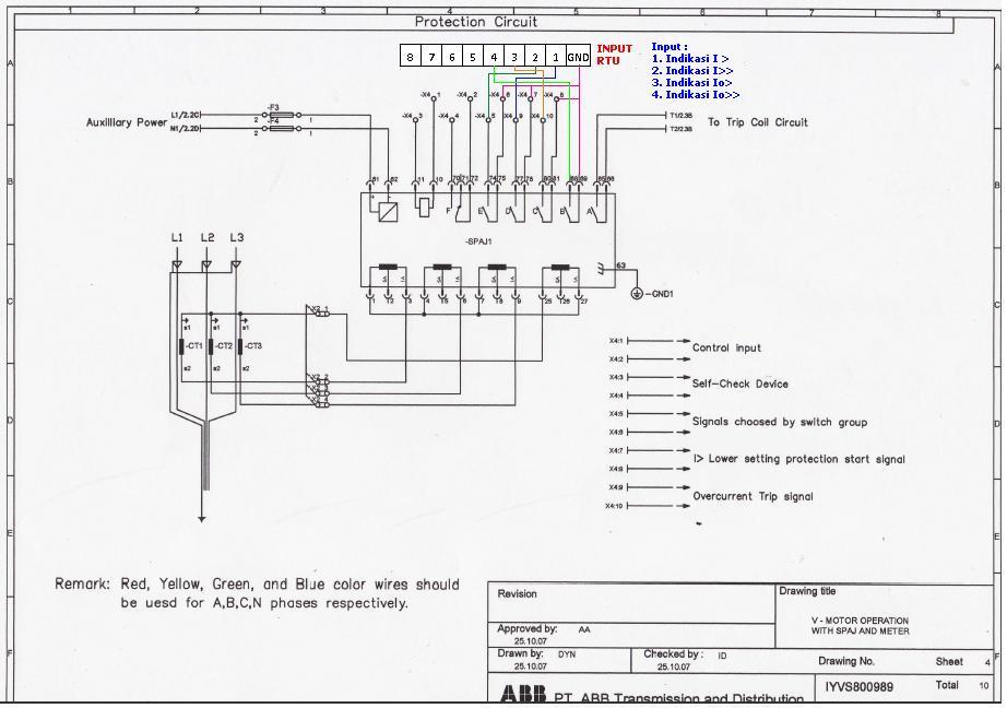 Blog pengalaman gambar wiring pada panel cubicel sf6cb abb asfbconference2016 Image collections