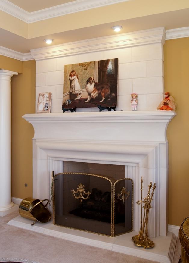 Cast Stone Fireplace Mantel Surrounds | Home Krafts
