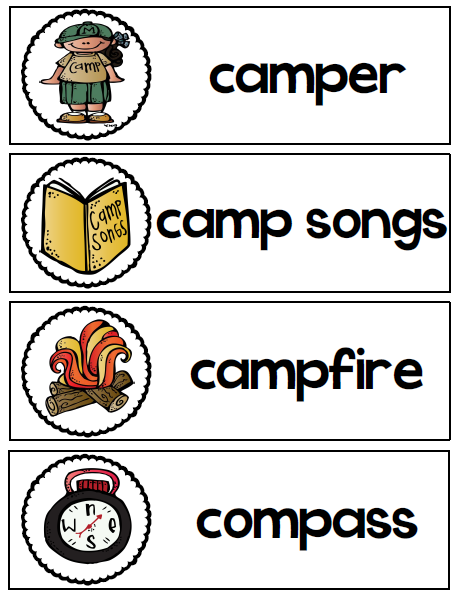 http://www.teacherspayteachers.com/Product/Camp-Theme-Word-Wall-Cards-FREEBIE-1117060