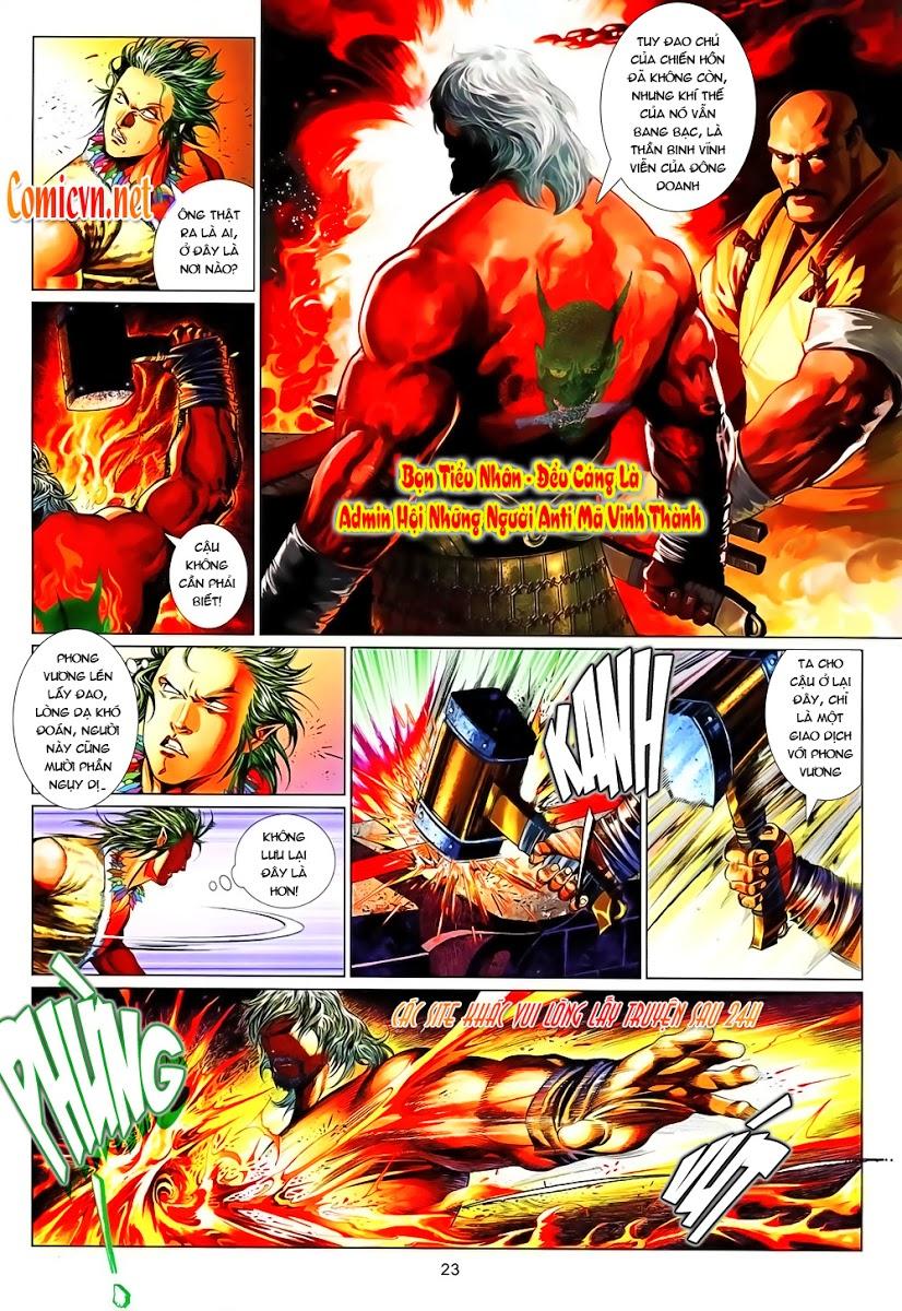 Phong Vân chap 637 Trang 23 - Mangak.info