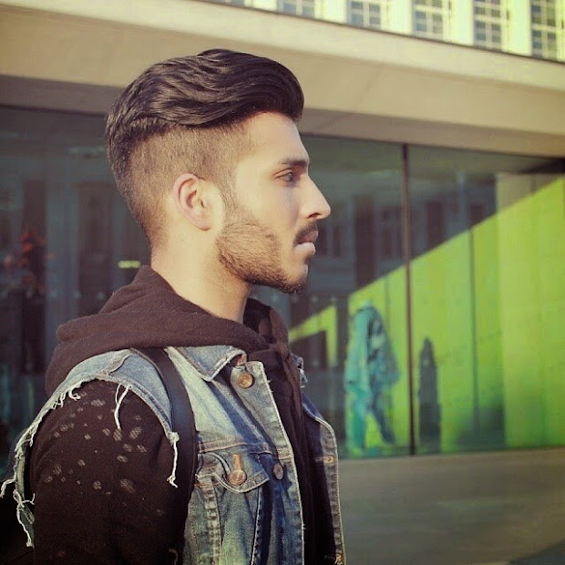 hairstyles men with short