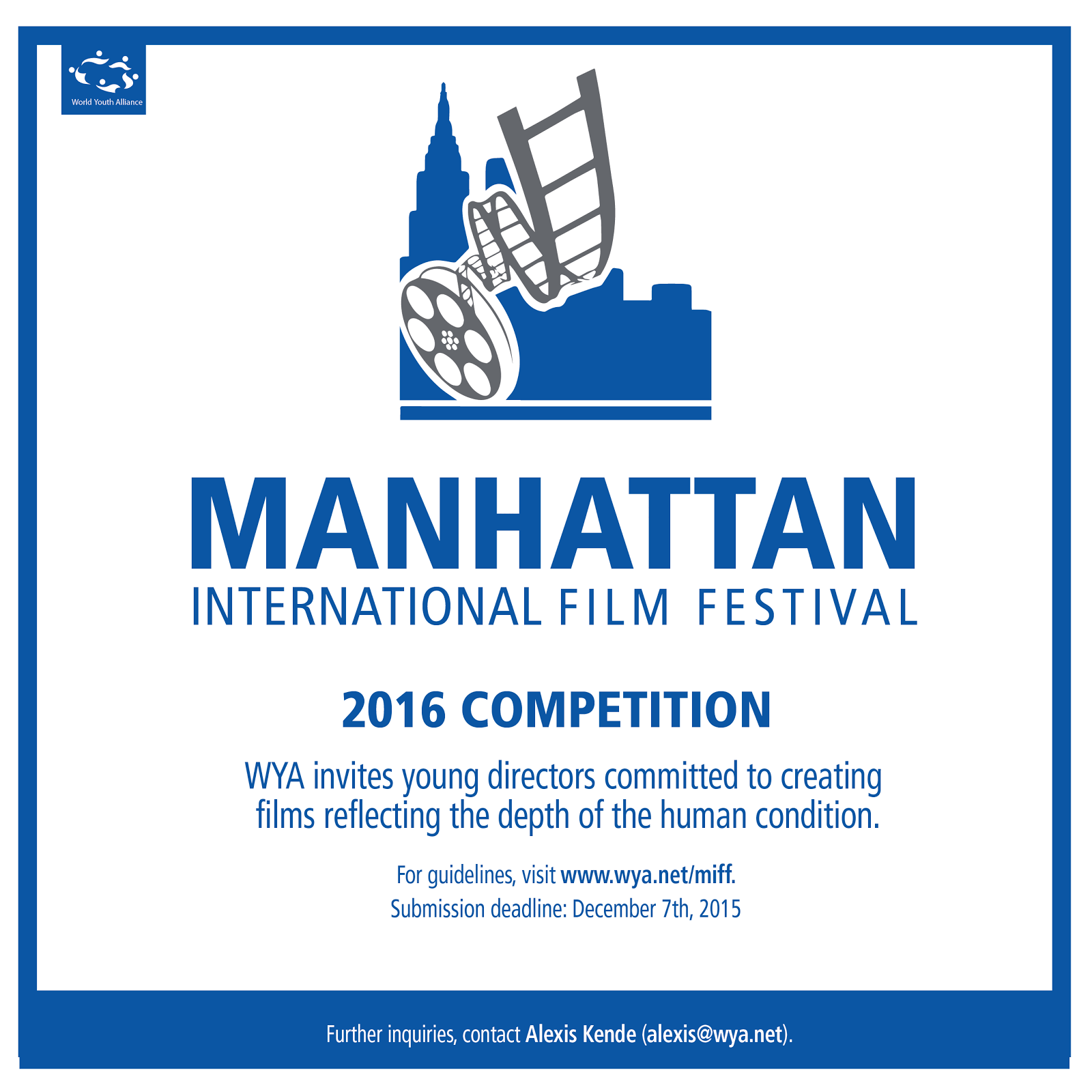 MANHATTAN INTERNATIONAL FILM FESTIVAL 2016