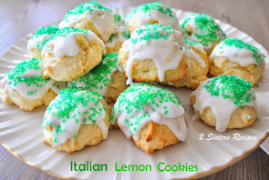 Italian Cookies for St.Patricks Day
