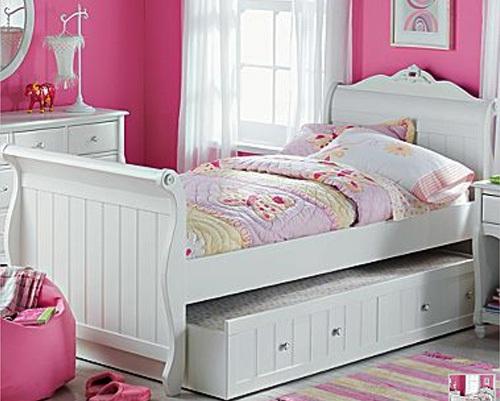 Muebles para recamaras ninas 20170807185321 - Dormitorio con muebles blancos ...