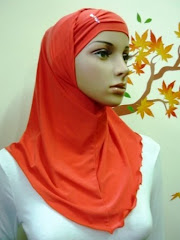Tudung Syria Plain Stylo