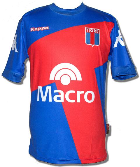 Tigre apresenta novas camisas para o Campeonato Argentino - Show de Camisas 750bd1cc99605