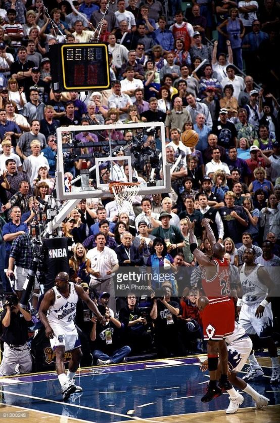 """The Last Shot"" vs Utah Jazz (NBA Finals 1998)"
