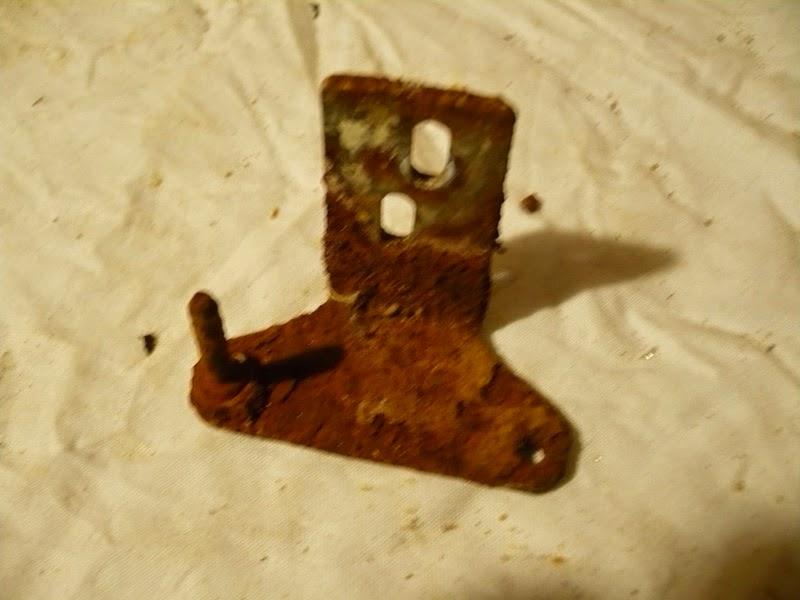 como quiatr el oxido de una bisagra de puerta de lavadora oxidada