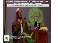 DVD Seminar Perbandingan Ahli Sunnah Dan Syiah.